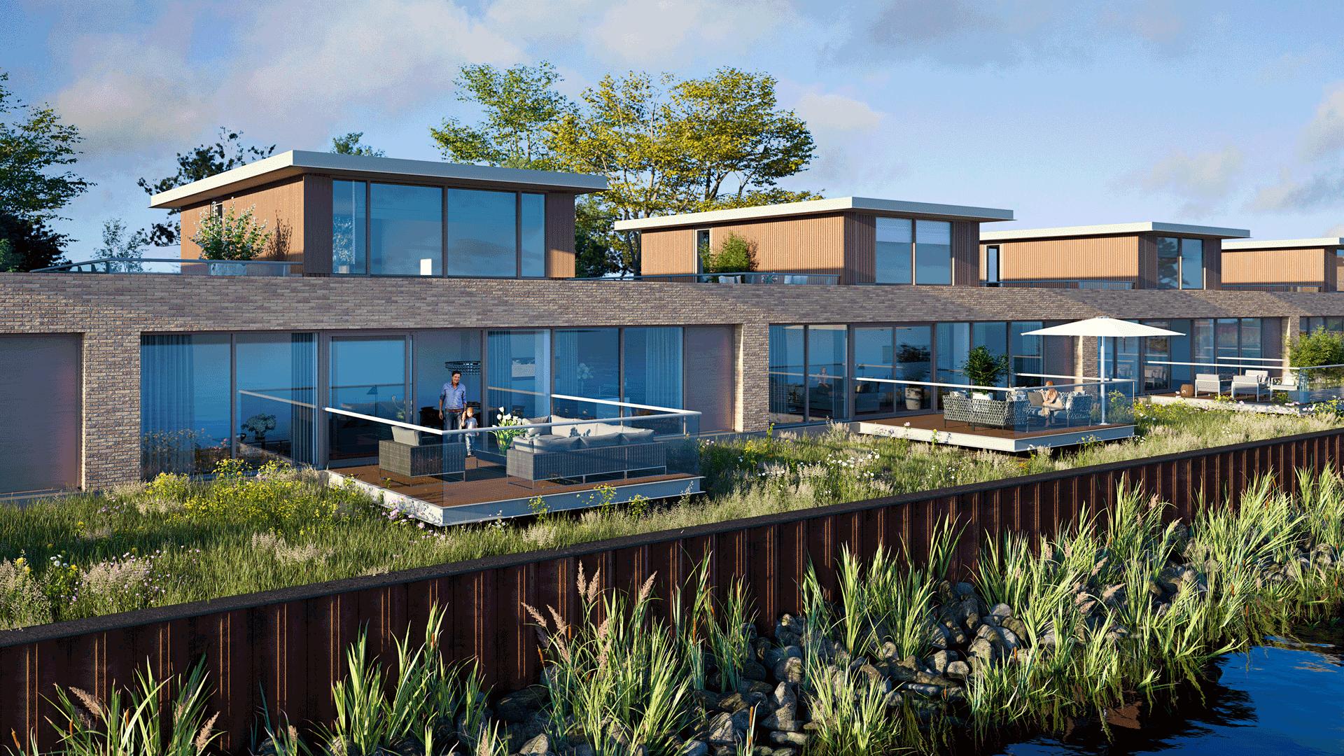 Nieuwbouw Zelling - Nieuwerkerk aan den ijssel - koopwoningen - panorama-woningen
